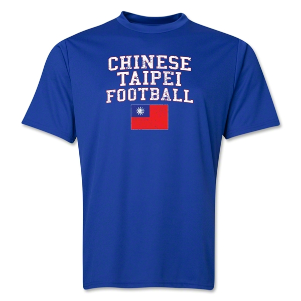 Chinese Taipei Football Training T-Shirt (Royal)