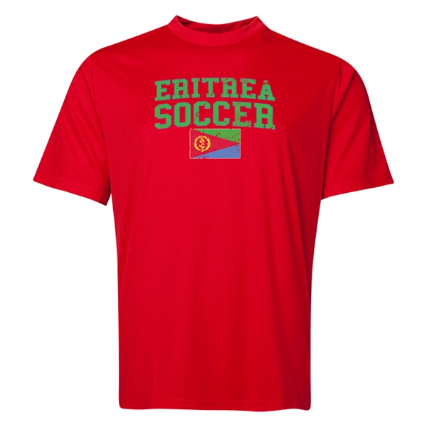 Eritrea Soccer Training T-Shirt (Red)