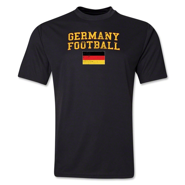 Germany Football Training T-Shirt (Black)