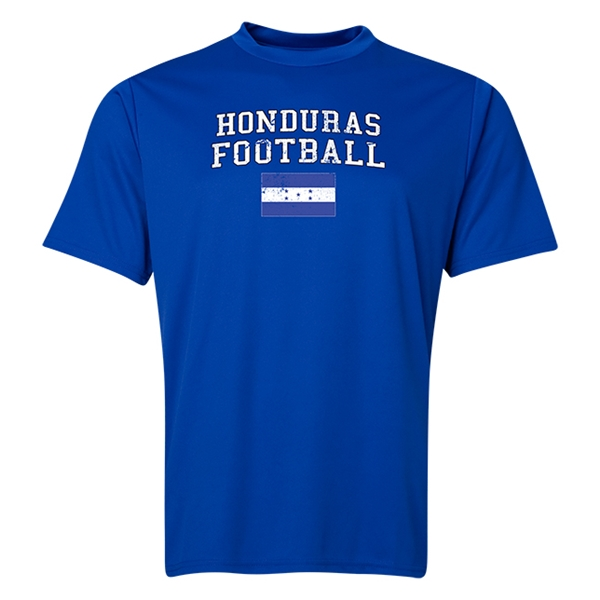Honduras Football Training T-Shirt (Royal)