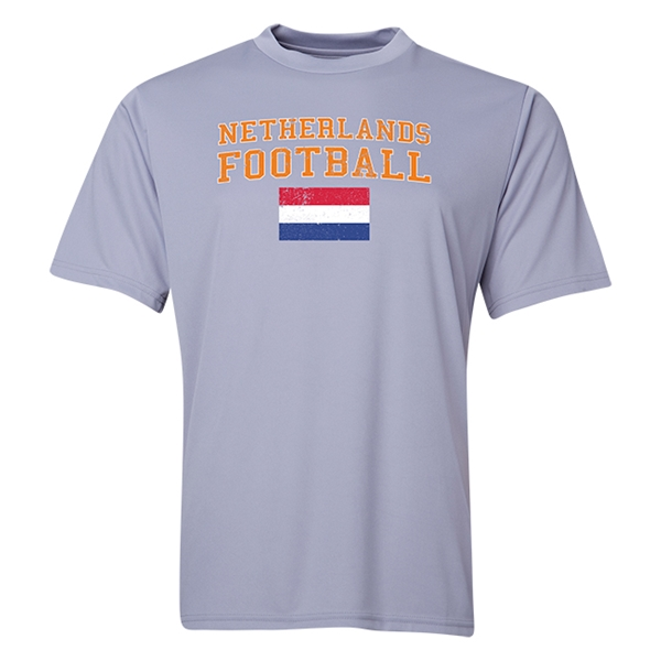 Netherlands Football Training T-Shirt (Grey)
