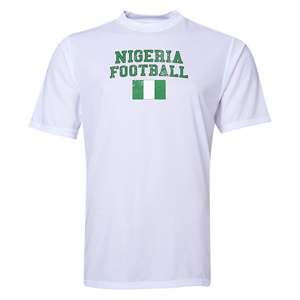 Nigeria Football Training T-Shirt (White)