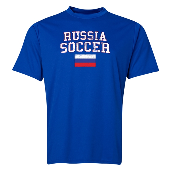 Russia Soccer Training T-Shirt (Royal)
