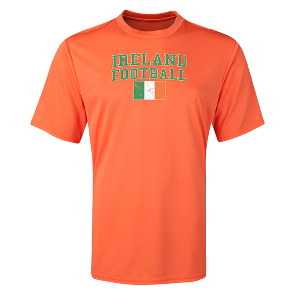 Ireland Football Training T-Shirt (Orange)