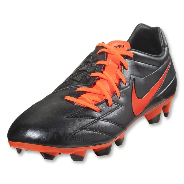 Nike T90 Strike IV FG (Black/Total Crimson)