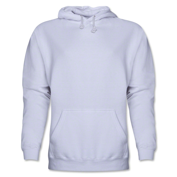 Hooded Pullover Fleece (White)