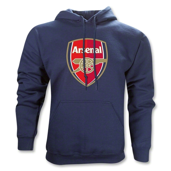 Arsenal Crest Hoody (Navy)