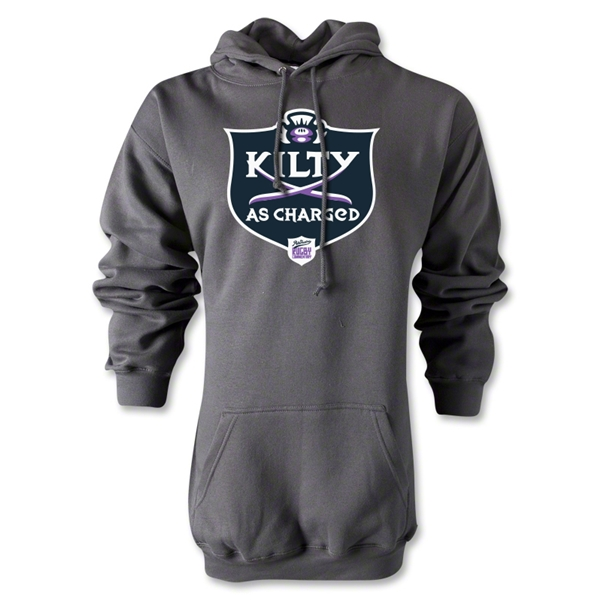 Kilty as Charged Alternative Rugby Commentary Hoody (Gray)