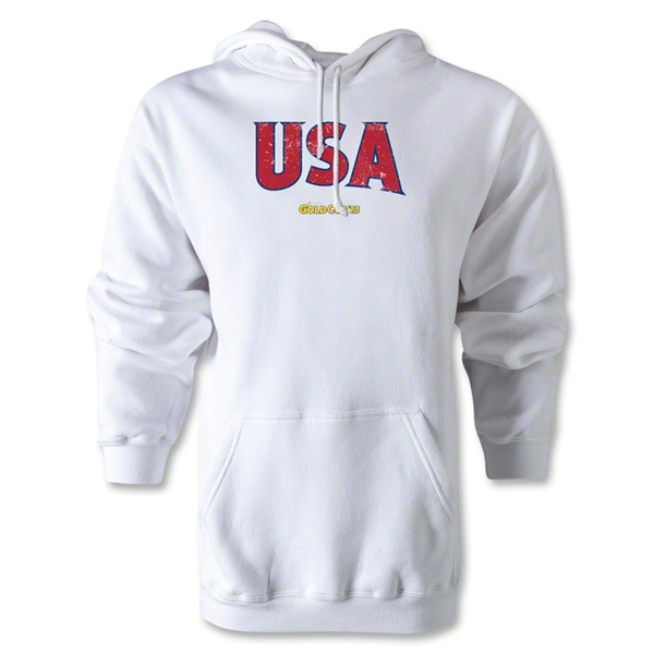 USA CONCACAF Gold Cup 2013 Hoody (White)