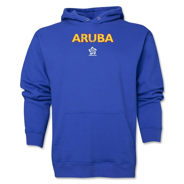 Aruba CONCACAF Distressed Hoody (Royal)