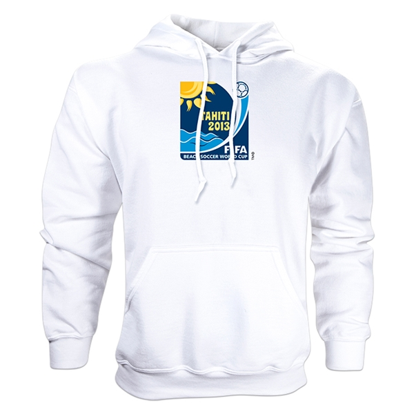 FIFA Beach World Cup 2013 Emblem Hoody (White)