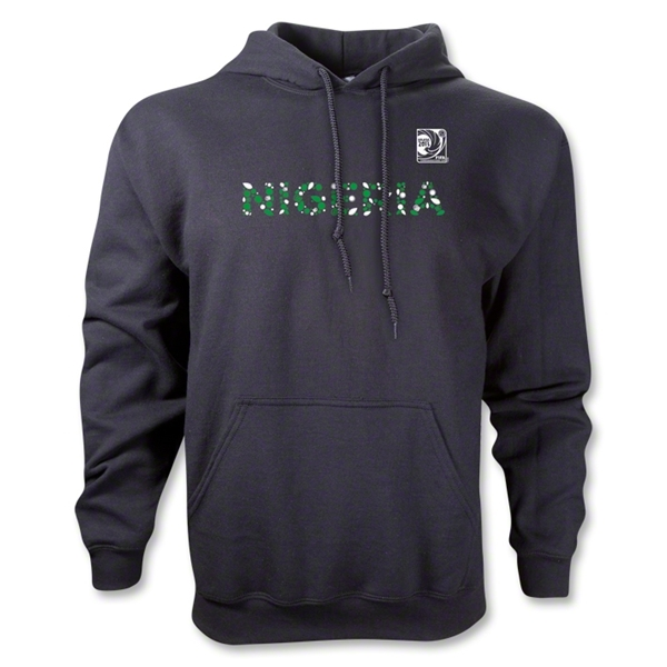 FIFA Confederations Cup 2013 Nigeria Country Hoody (Black)