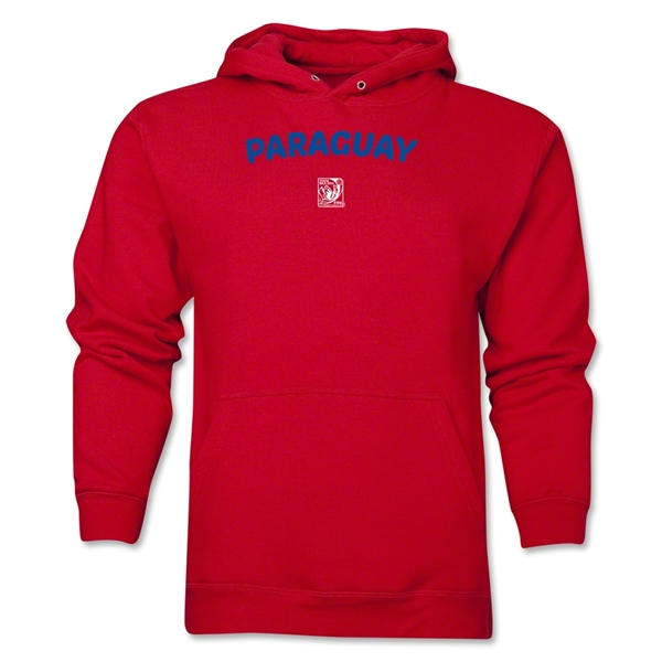 Paraguay FIFA U-17 Women's World Cup Costa Rica 2014 Men's Core Hoody (Red)
