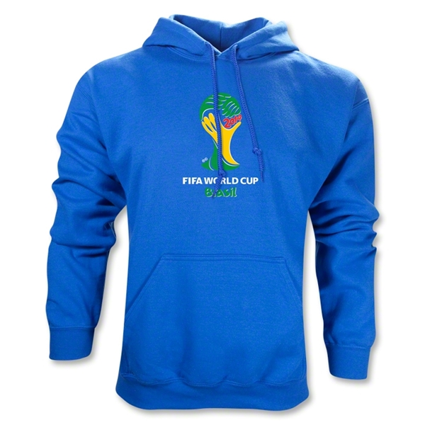 2014 FIFA World Cup Brazil(TM) Emblem Hoody (Royal)