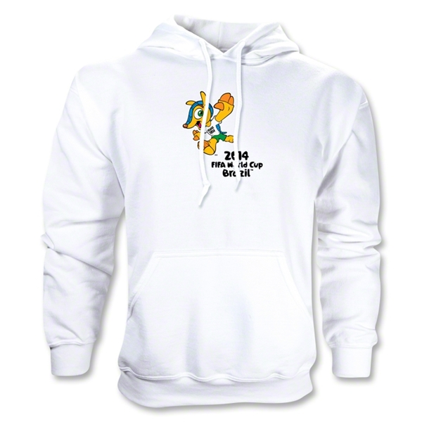 2014 FIFA World Cup Brazil(TM) Mascot Hoody (White)