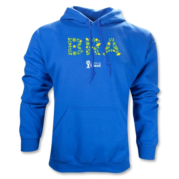 Brazil 2014 FIFA World Cup Brazil(TM) Elements Hoody (Royal)
