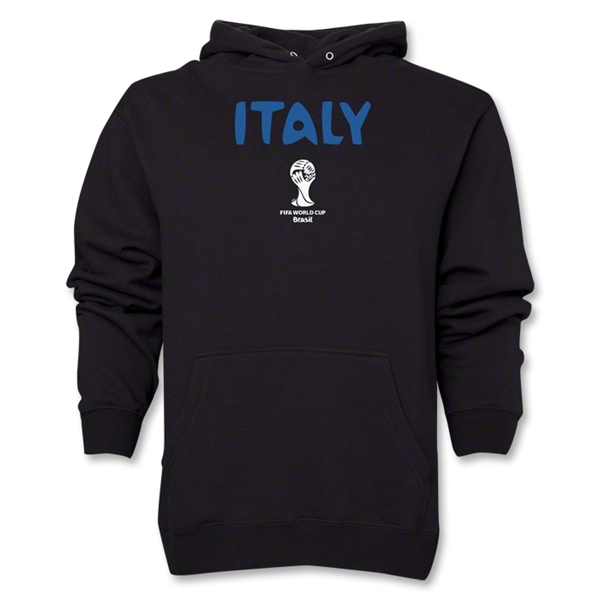 Italy 2014 FIFA World Cup Brazil(TM) Men's Core Hoody (Black)