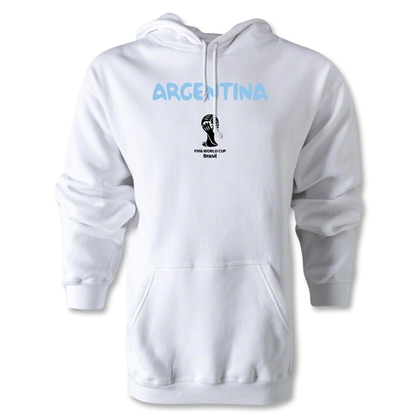 Argentina 2014 FIFA World Cup Brazil(TM) Men's Core Hoody (White)