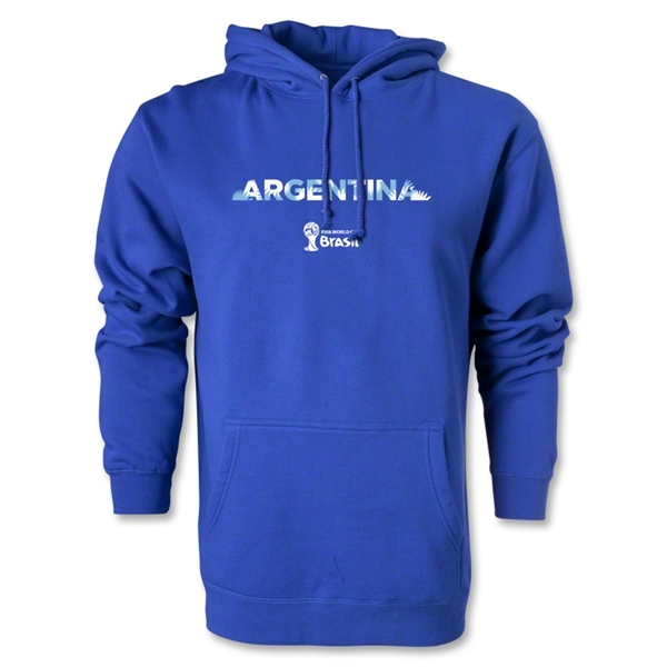 Argentina 2014 FIFA World Cup Brazil(TM) Men's Palm Hoody (Royal)