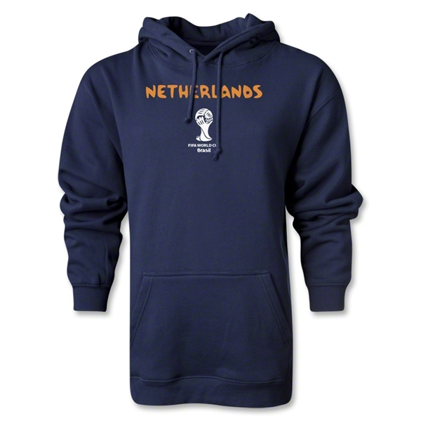 Netherlands 2014 FIFA World Cup Brazil(TM) Core Hoody (Navy)