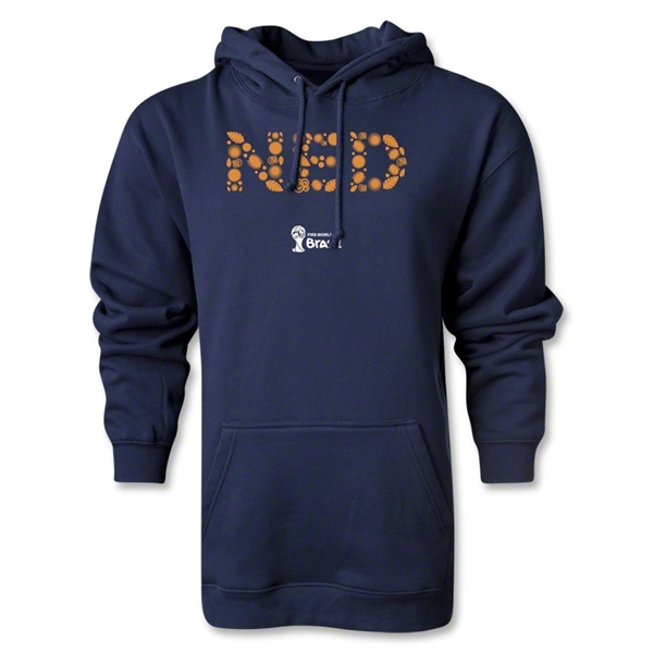 Netherlands 2014 FIFA World Cup Brazil(TM) Elements Hoody (Navy)