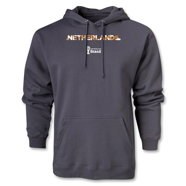 Netherlands 2014 FIFA World Cup Brazil(TM) Palm Hoody (Dark Grey)