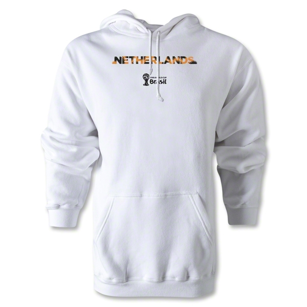 Netherlands 2014 FIFA World Cup Brazil(TM) Palm Hoody (White)