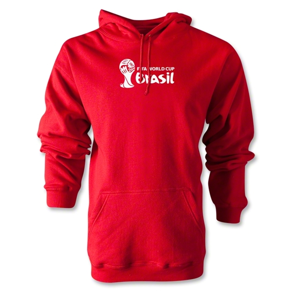 2014 FIFA World Cup Brazil(TM) Landscape Emblem Hoody (Red)