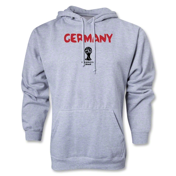 Germany 2014 FIFA World Cup Brazil(TM) Core Hoody (Ash)