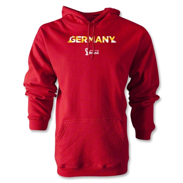 Germany 2014 FIFA World Cup Brazil(TM) Men's Palm Hoody (Red)
