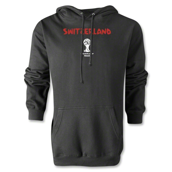 Switzerland 2014 FIFA World Cup Brazil(TM) Men's Core Hoody (Black)