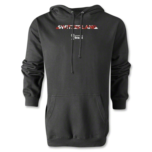 Switzerland 2014 FIFA World Cup Brazil(TM) Men's Palm Hoody (Black)