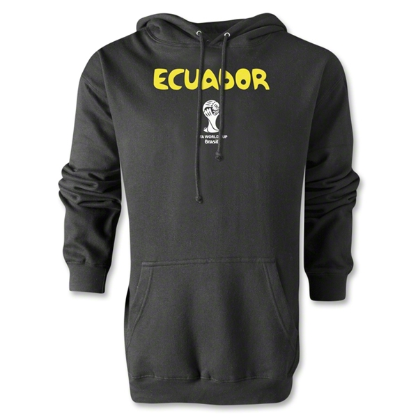 Ecuador 2014 FIFA World Cup Brazil(TM) Men's Core Hoody (Black)
