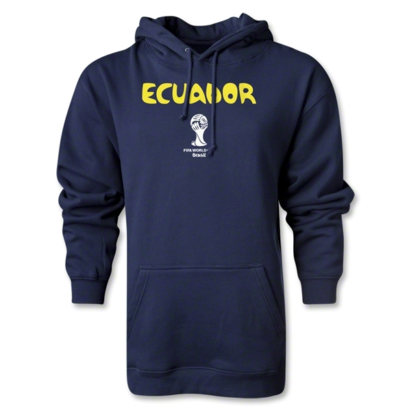 Ecuador 2014 FIFA World Cup Brazil(TM) Men's Core Hoody (Navy)