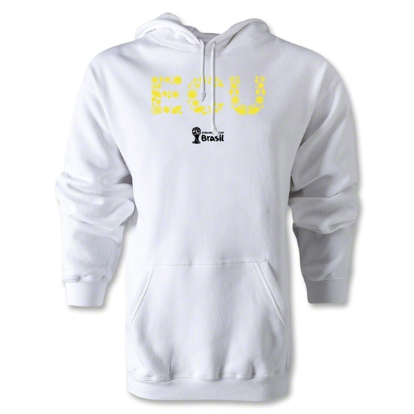Ecuador 2014 FIFA World Cup Brazil(TM) Men's Elements Hoody (White)