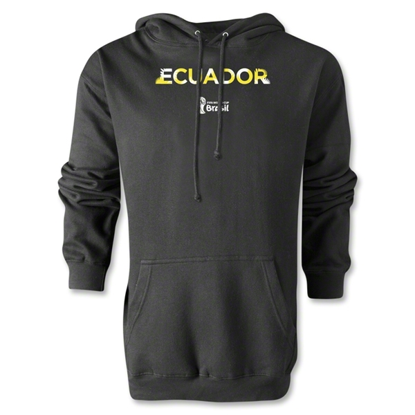 Ecuador 2014 FIFA World Cup Brazil(TM) Men's Palm Hoody (Black)