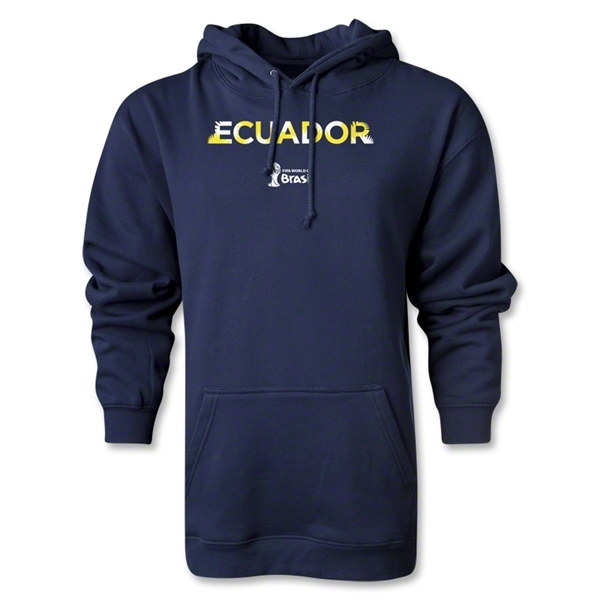 Ecuador 2014 FIFA World Cup Brazil(TM) Men's Palm Hoody (Navy)