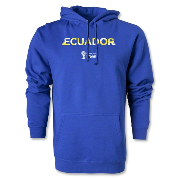 Ecuador 2014 FIFA World Cup Brazil(TM) Men's Palm Hoody (Royal)