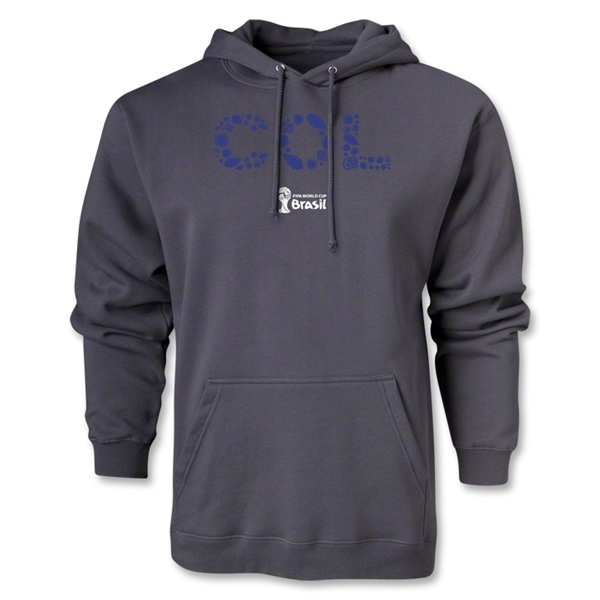 Colombia 2014 FIFA World Cup Brazil(TM) Men's Elements Hoody (Dark Grey)