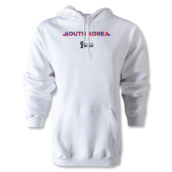 South Korea 2014 FIFA World Cup Brazil(TM) Men's Palm Hoody (White)