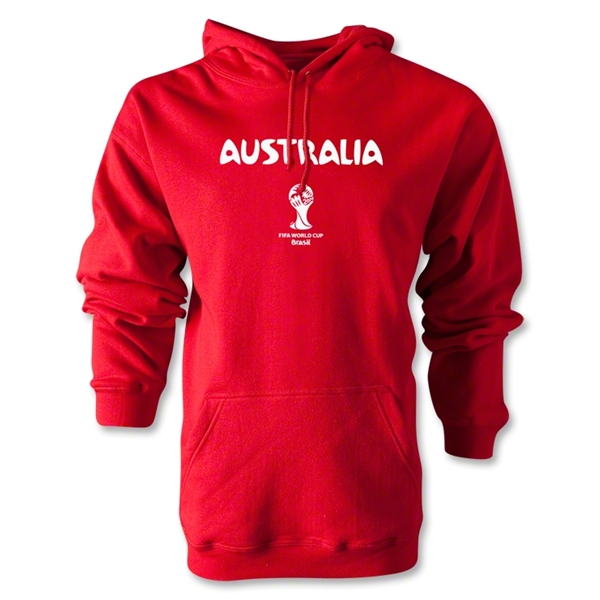 Australia 2014 FIFA World Cup Brazil(TM) Men's Core Hoody (Red)