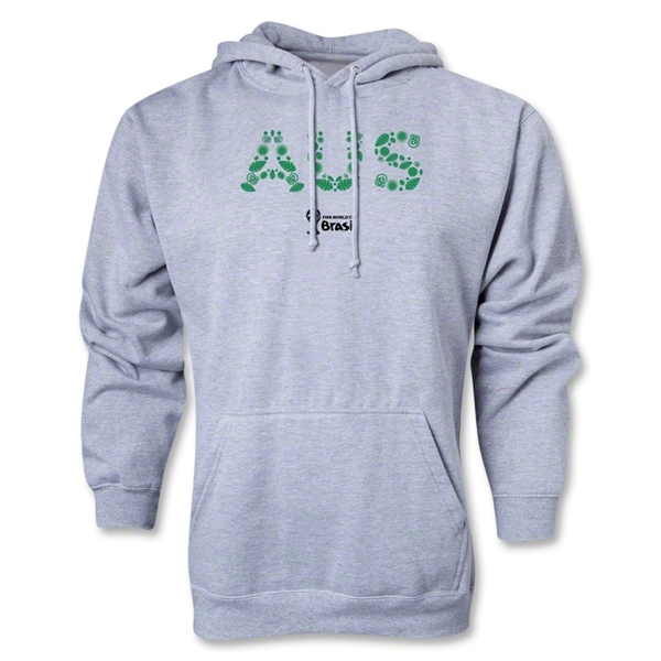 Australia 2014 FIFA World Cup Brazil(TM) Men's Elements Hoody (Ash Gray)