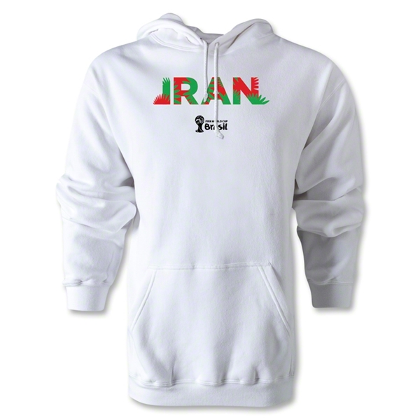 Iran 2014 FIFA World Cup Brazil(TM) Men's Palm Hoody (Grey)