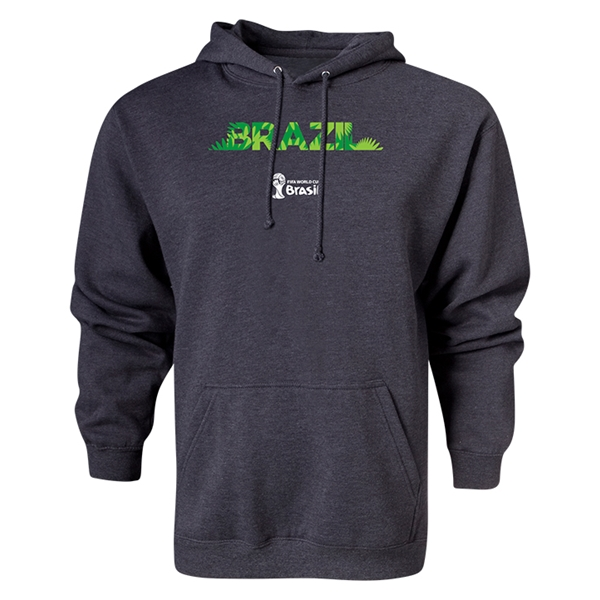 Brazil 2014 FIFA World Cup Brazil(TM) Hoody (Gray)