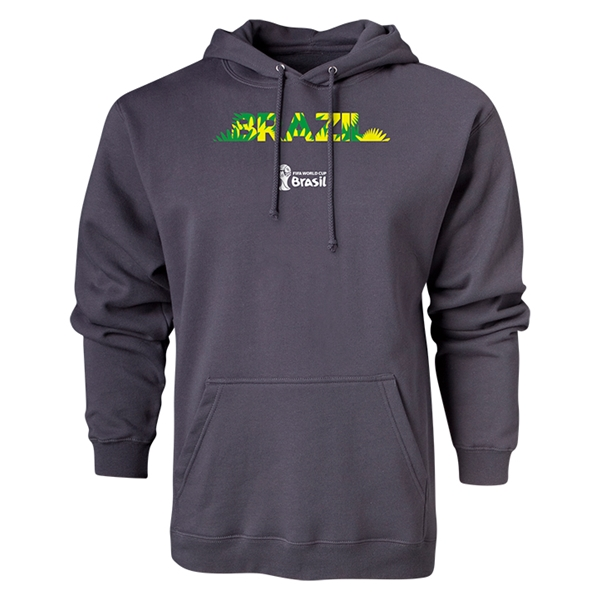 Brazil 2014 FIFA World Cup Brazil(TM) Hoody (Dark Gray)