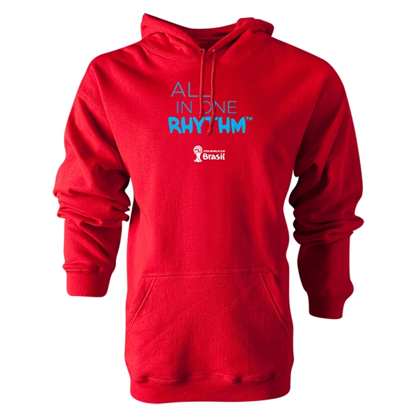 2014 FIFA World Cup Brazil(TM) All In One Rhythm Hoody (Red)