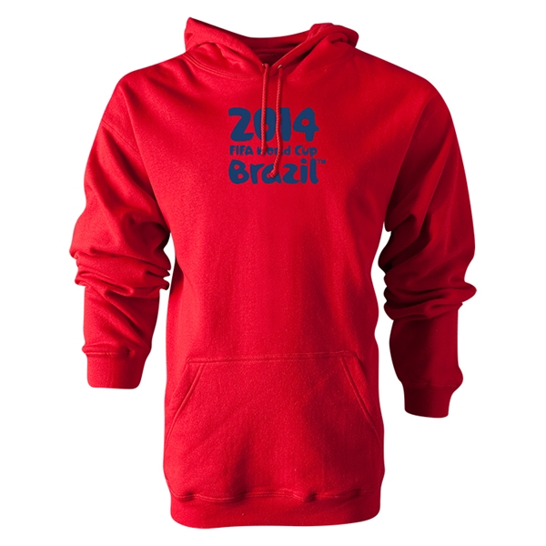 2014 FIFA World Cup Brazil(TM) Logotype Hoody (Red)
