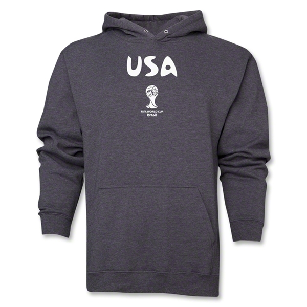 USA 2014 FIFA World Cup Brazil(TM) Men's Core Hoody (Dark Grey)