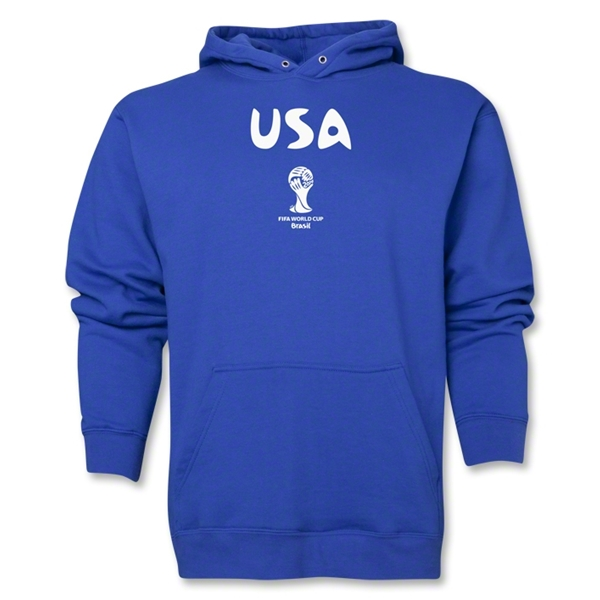 USA 2014 FIFA World Cup Brazil(TM) Men's Core Hoody (Royal)