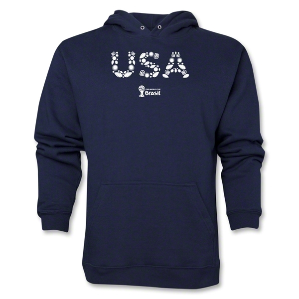 USA 2014 FIFA World Cup Brazil(TM) Men's Elements Hoody (Navy)